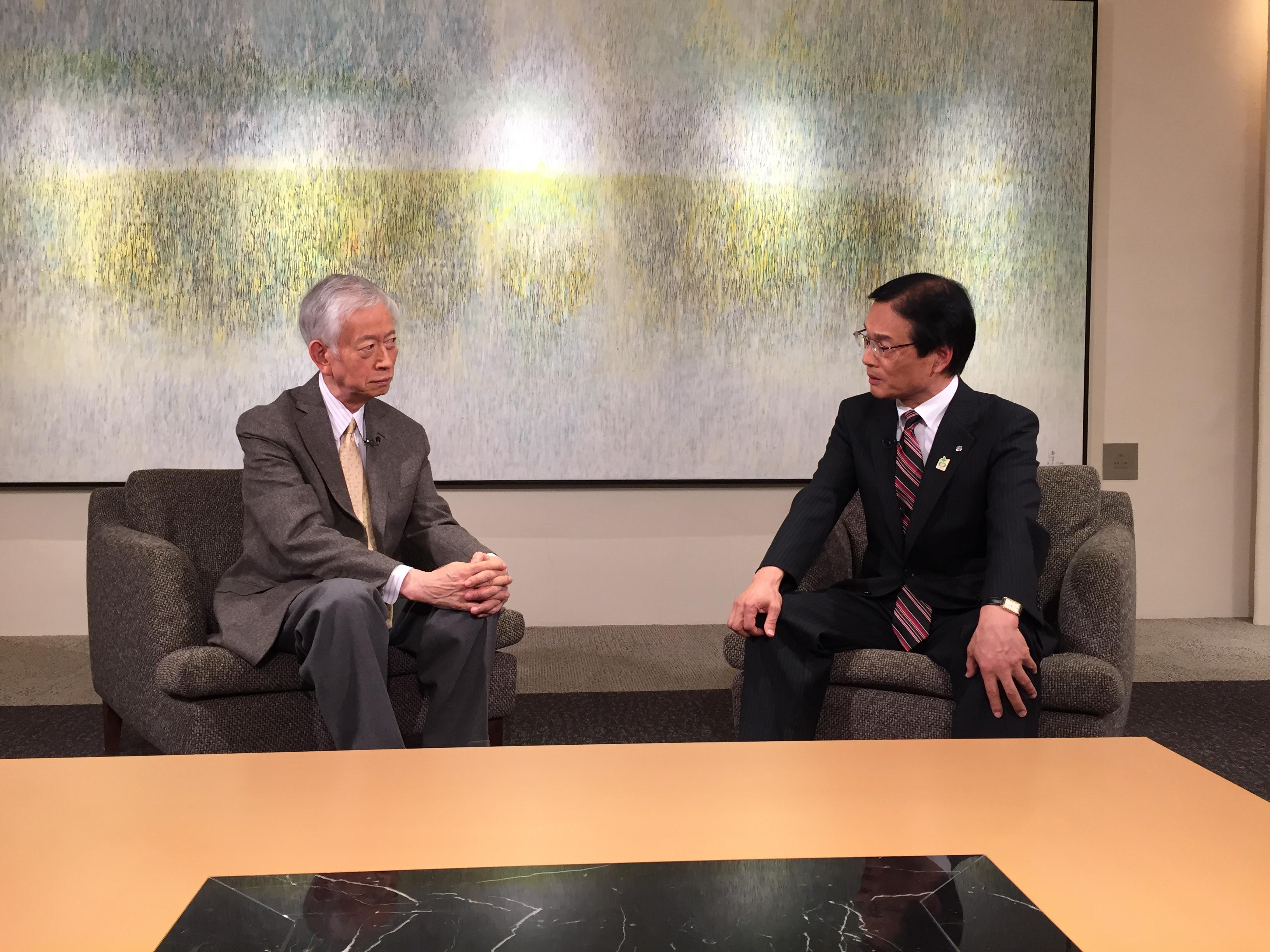 20161016川上満町長対談画像
